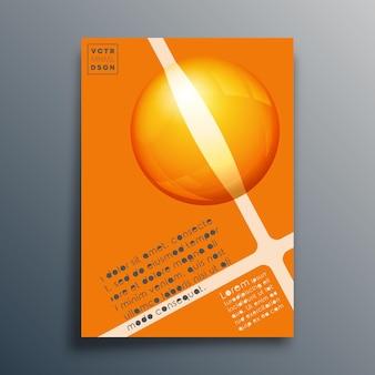 Conception géométrique abstraite pour affiche, dépliant, couverture de brochure, modèle de présentation, typographie ou autres produits d'impression. illustration vectorielle.