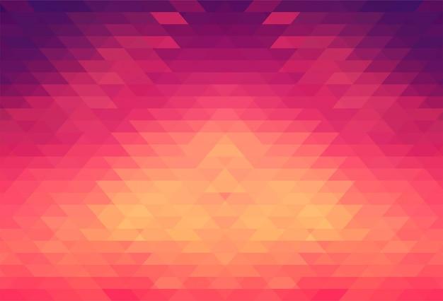Conception géométrique colorée abstraite