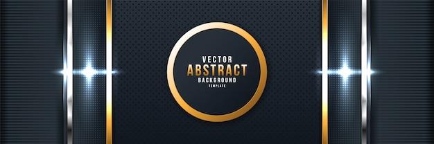 Conception géométrique et futuriste abstraite du vecteur de fond