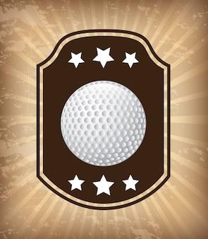 Conception de golf