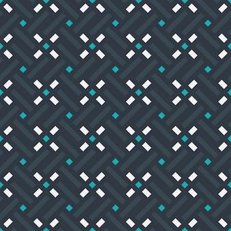 Conception graphique décoration abstraite seamless pattern