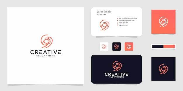 La conception graphique du logo g bird pour d'autres utilisations est très appropriée pour une utilisation
