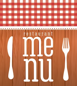 Conception graphique de menu