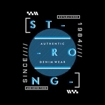Conception graphique mots typographie