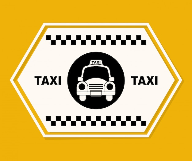 Conception graphique de taxi
