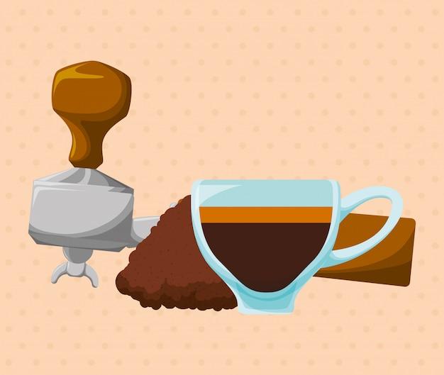 Conception de l'heure du café