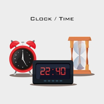 Conception d'horloge et de temps