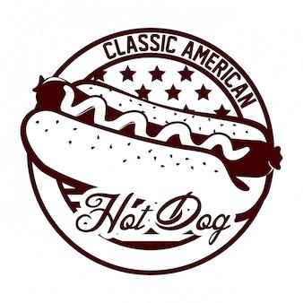 Conception de hot-dog