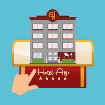 Conception d'hôtels et d'applications numériques