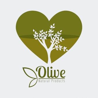 Conception à l'huile d'olive