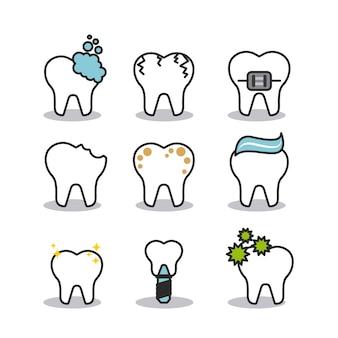 Conception d'hygiène dentaire