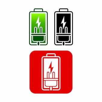 Conception d'icône de batterie