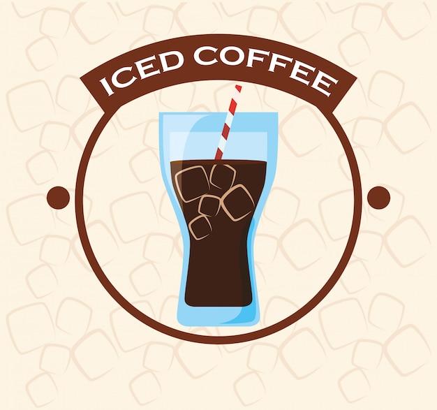 Conception d'icône de café
