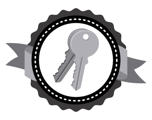 Conception d'icône de clés