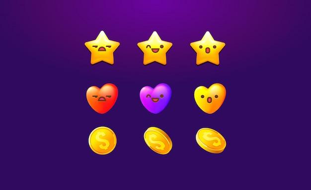 Conception d'icône de collection pour le jeu