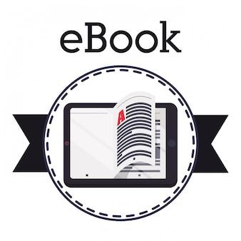 Conception d'icône ebook