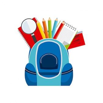Conception d'icône d'école