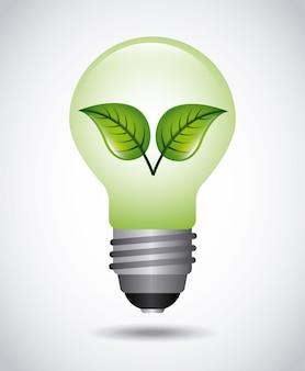 Conception d'icône écologie, illustration vectorielle illustration eps10