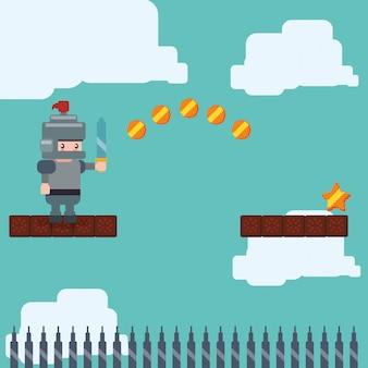 Conception d'icône de jeu vidéo