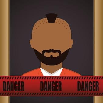 Conception de l'icône de la justice