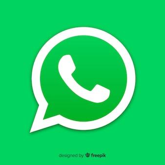 Conception d'icône whatsapp