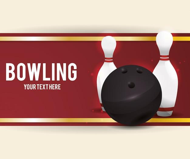 Conception d'icônes de bowling