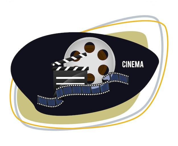Conception d'icônes de cinéma