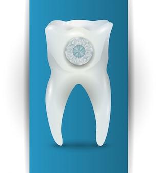 Conception d'icônes dentaires