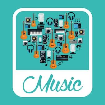 Conception d'icônes de musique