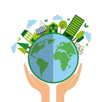 Conception d'idée verte