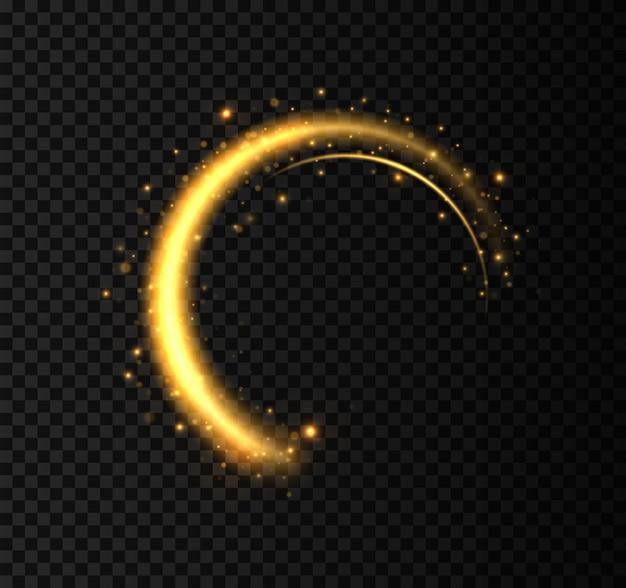 Conception d'illustration de l'anneau d'or