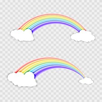 Conception d'illustration de modèle de beauté arc-en-ciel