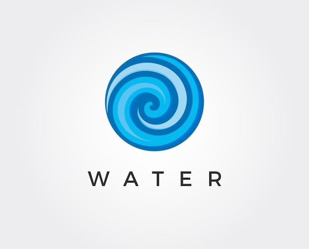 Conception d'illustration de modèle de logo de goutte d'eau