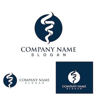 Conception d'illustration vectorielle de symbole de logo de tornade