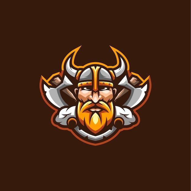 Conception d'illustration de viking.