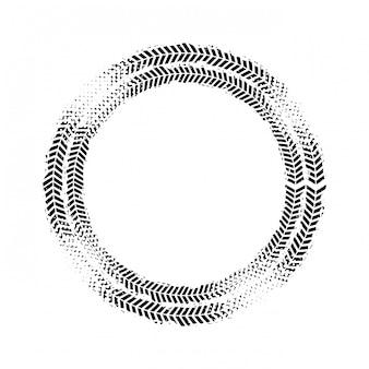 Conception d'impression de roue
