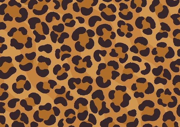 Conception imprimée léopard. peau de guépard. empreinte d'animal.