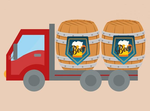 Conception de l'industrie de la bière