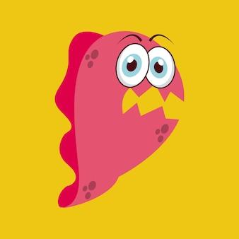 Conception d'infection mignon, illustration vectorielle illustration eps10