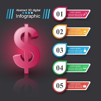Conception infographique 3d