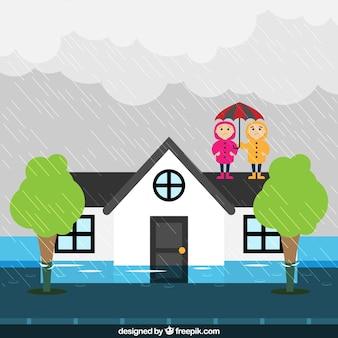 Conception d'inondation