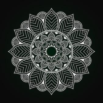 Conception islamique de mandala de luxe