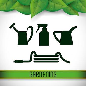 Conception de jardinage
