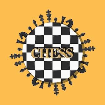 Conception de jeu d'échecs
