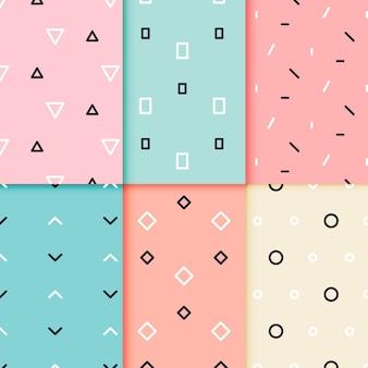 Conception de jeu de motifs géométriques minimes