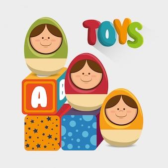 Conception de jouets mignons