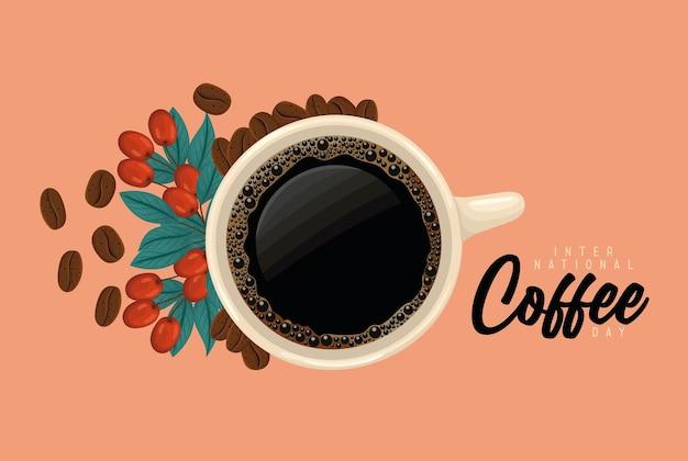 Conception de jour de café