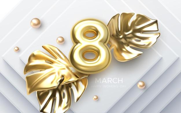 Conception de la journée de la femme du 8 mars