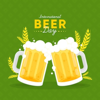 Conception de la journée internationale de la bière