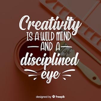 Conception de lettrage à des fins de créativité